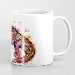 Colourful Tuatara Coffee Mug
