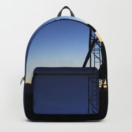 As the sun rises in the Mojave Desert in California the Garvey Spacecraft Corporations Prospector P- Backpack
