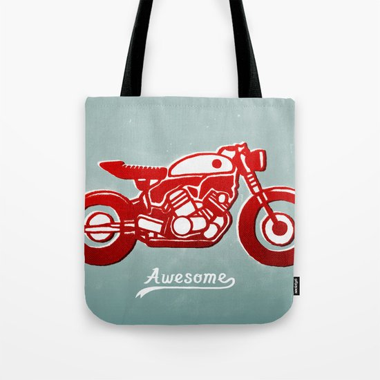 Vintage Bike Tote Bag
