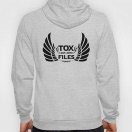 Tox Files - Black on White Hoody