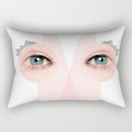 the art of seeing Rectangular Pillow