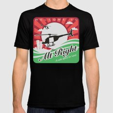 Welcome to the Alt Right X-LARGE Mens Fitted Tee Black