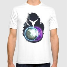 Metroid Prime 2: Echoes MEDIUM White Mens Fitted Tee