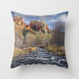 Cathedral Rock in Sedona Arizona Throw Pillow