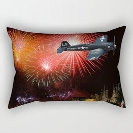 Triumphant Return Rectangular Pillow