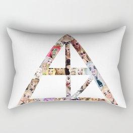 Alaska's many faces sign Rectangular Pillow