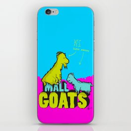 Mall Goats iPhone Skin