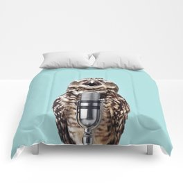 SINGING OWL Comforters