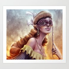 The Carnival Spirit Art Print