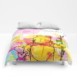 Pooh -  Spell Love... 12 Comforters