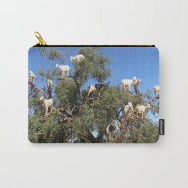 Goats in a tree Carry-All Pouch