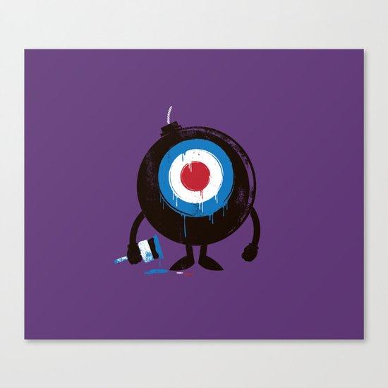 shoot me! Canvas Print