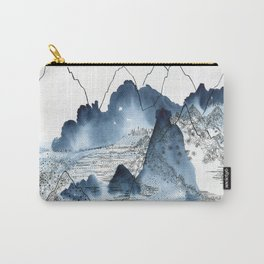 Love of mountains landscape format Carry-All Pouch