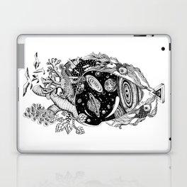 Cosmos Space Heart Laptop & iPad Skin