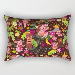 Hula Cuties Pattern Rectangular Pillow
