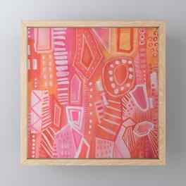 What Happy Feels Like Framed Mini Art Print