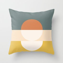 Abstract 02 Throw Pillow