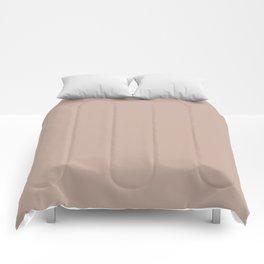 Rust Bucket ~ Tan Comforters