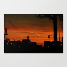 Green Light Canvas Print