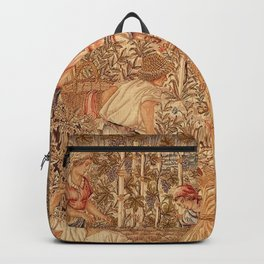 The Allegory of Work landscape by Hans Lohbeck Backpack