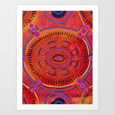 Eye of Spirit III Art Print