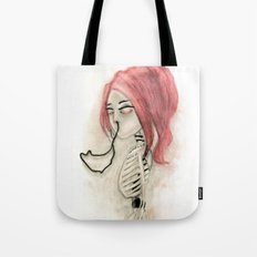 The inability to perceive with eyes notebook III Tote Bag