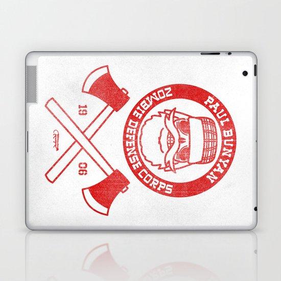 Paul Bunyan Zombie Defense Corps Laptop & iPad Skin