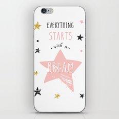 Everything stars iPhone & iPod Skin