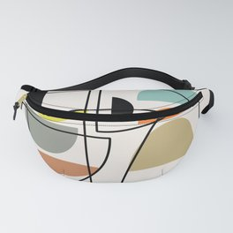 "Mid Century Modern ""Bowls"" Fanny Pack"