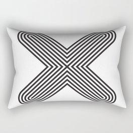 Letter X Rectangular Pillow