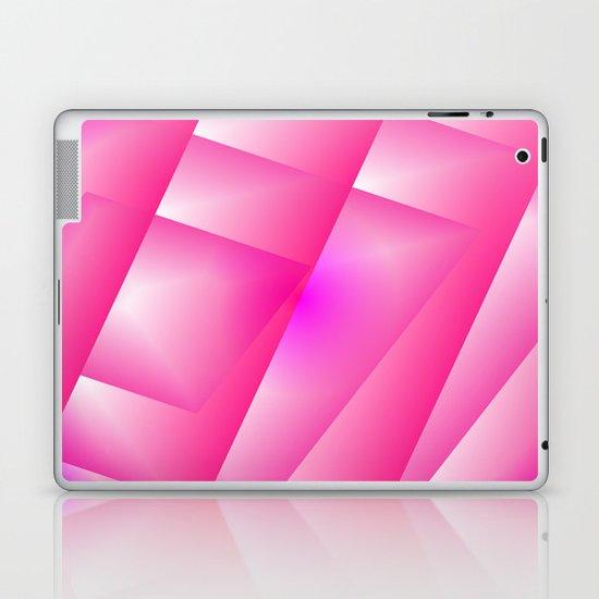 Pink abstract Laptop & iPad Skin