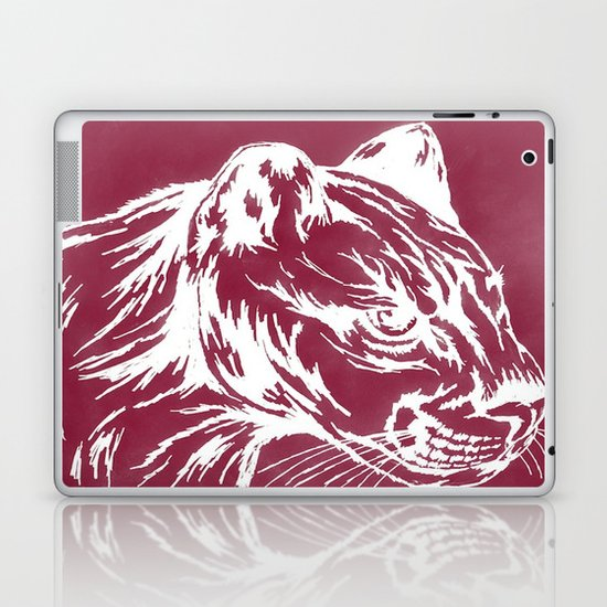 red cougar Laptop & iPad Skin
