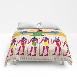 EYGPTIAN GODS Comforters