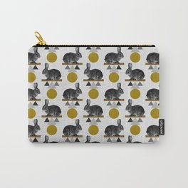 Tribal Rabbit Carry-All Pouch