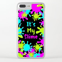 My Slime Clear iPhone Case