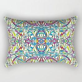Sunday Morning Swirlies Rectangular Pillow