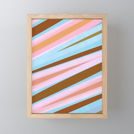 Lines Design Framed Mini Art Print