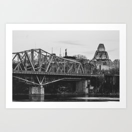 Ottawa Landmarks Art Print