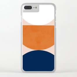 Abstraction_Balance_Minimalism_001 Clear iPhone Case