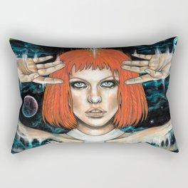 Leeloo Dallas Rectangular Pillow