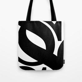 Hidden Letters. Baskerville S Tote Bag