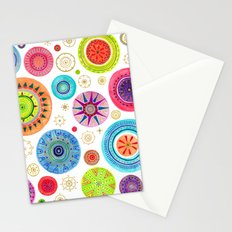 festive flowers Stationery Cards