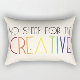 No Sleep For Us Rectangular Pillow