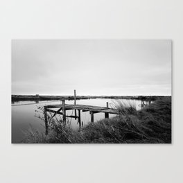 The Whitebait Stand Canvas Print