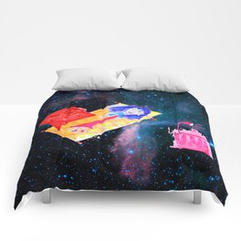 Τhe Universe is our Ηome | Kids Room up to the Space | Cosmos Comforters