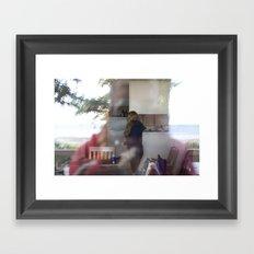 Shadow Of Framed Art Print