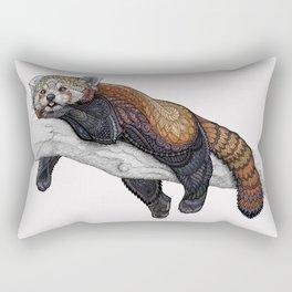 Red Panda Rectangular Pillow