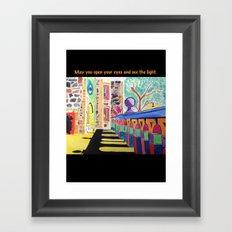 Reverberation Framed Art Print