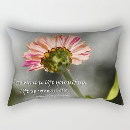 Lift yourself Up Rectangular Pillow