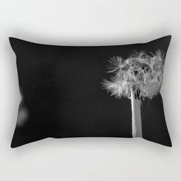 Dandelion in the dark Rectangular Pillow